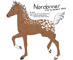 6574 - Nordanner Foal Design by Ikiuni