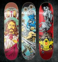 Deck Art collect 1 by treecore