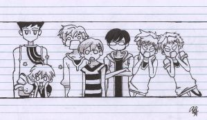 Ouran Host Club by Isamakisa45