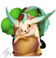 Leafeon by Tartii