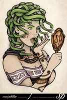 Medusa Mirror by Sam-Phillips-NZ