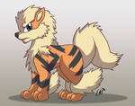 Arcanine the Guardian by OEmilyThePenguinO
