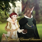 The Garden of Eternal Summer Poster by HewyToonmore