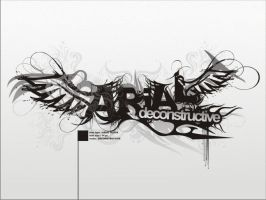 arial deconstructive by aremanvin