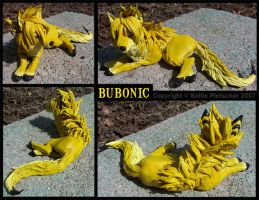 Bubonic sculpture by Plaguedog