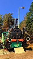 Historic steam train, abandoned by patrickjobst
