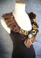 OOAK Steampunk DIY Top by ByKato
