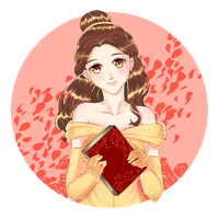 Beauty and the Beast - Belle by Iori-dono