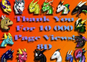 Thank You for 10 000 by nova-fire-dragon