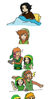 If you spend a day with a bunch of Links... by stargazer-eyes