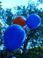 Vivid Colours of a Balloon by lightstars