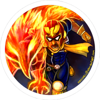[Button] Captain Falcon by Haychel