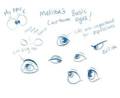 My Basic Cartoon Eyes by Miss-Melis