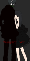 .:Vampire Love:. Collab by HiddenSiren