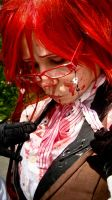 Grell Cosplay - Laundry Required. by diriagoly