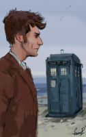 Doctor Who by Lizardme