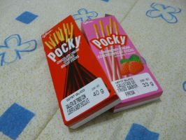 My Pocky Boxes by runnerMKWii23