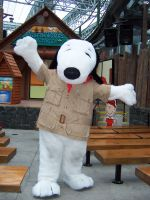 Camp Snoopy Mascot MOA by JillyFoo