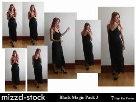 Black Magic Pack 3 by mizzd-stock