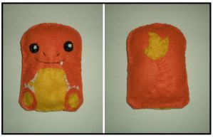 Charmander Plush by starbuxx