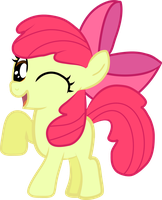Apple Bloom - Like Big Sister by Creshosk
