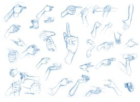 Hand studies 3 by BBstudies