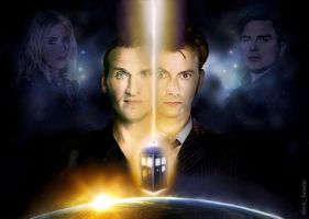 My Favourite Doctors and Companions by slavicbeastie
