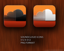 Soundcloud Alternative icons by robduckyworth
