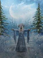 Ice Queen Of The Forest by PrincessMagical
