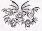 A7X Deathbat DRAW by LGhost