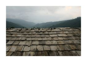 Stone Kitchen Roof by PrateekRajbhandari