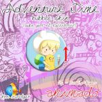 Adventure Time Bubble  xwidget skin by NiallsWife