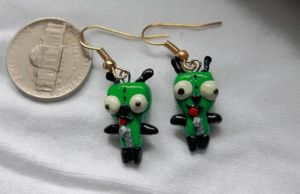Gir Earrings! by FairyMoonCreations
