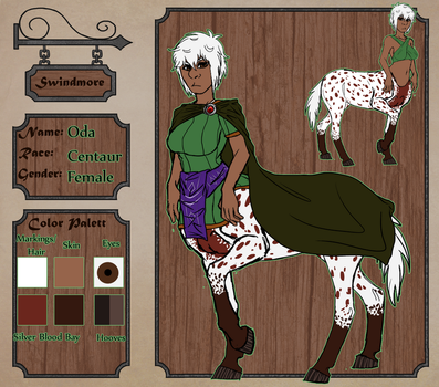 LoS: Dame Oda by DasChocolate
