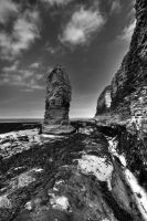 Flamborough in Mono by CharmingPhotography