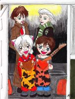 Roic and Jared Trick or Treat by DogDemonAbridged12