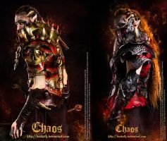 Chaos Armors : Male and Female by Deakath