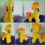 Spitfire filly plushie for sale by SiamchuchusPlushies