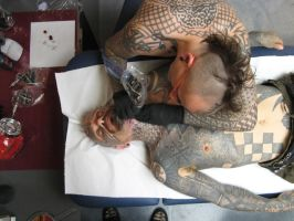 pink tattooing xed by tattoopink