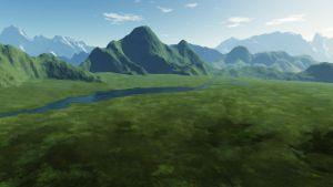 Valley, concept art 3 of 4 by Maiamimo
