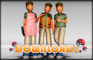 MMD - Brock 1.0 DOWNLOAD! by Hashi-Sticks