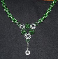 Celtic Byzantine Necklace by DragonKindred