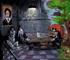 alice in wonderland by LordSpewbarfer