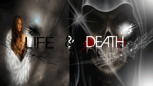 Life vs. Death by reaperzdesigns