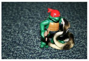 Fight with snake...gogo turtle by swarafun