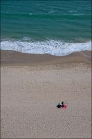 Bournemouth Beach - Relaxing by mrk