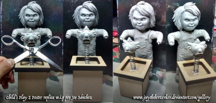 Child's play 2 Poster replica w.i.p. 3 by joeytheberzerker