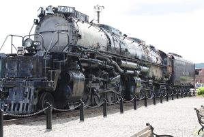 Union Pacific Big Boy 4012 by metalheadrailfan