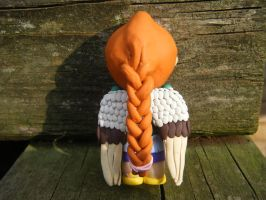 Ingrid from Subsapien Polymer Clay Chibi (Back) by LadyElasa