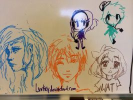 Whiteboard by luvkey